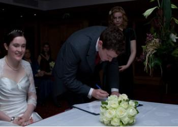 Wedding of Ellen and Andrew